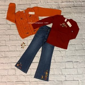NWTs Gymboree Harvest Leaves Collection